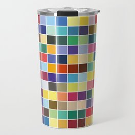 Pantone Color Palette - Pattern Travel Mug