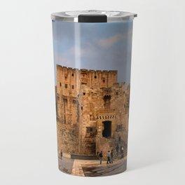 The Castle of Aleppo Travel Mug