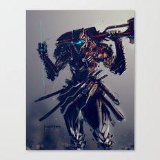 Triblade Canvas Print