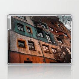 Hundertwasser museum Laptop & iPad Skin