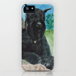 Giant Schnauzer iPhone Case