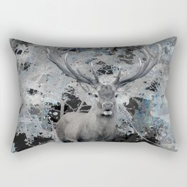 Abstract Digital Art Composition Deer Rectangular Pillow