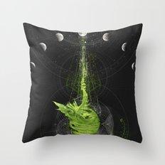 Nature Radio Throw Pillow