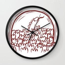 Matt the Hack Wall Clock