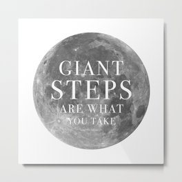 Giant steps | W&L004 Metal Print