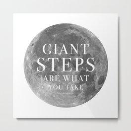 Giant steps | W&L004 Metal Print