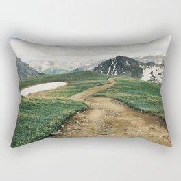 Colorado Mountain Road Rectangular Pillow