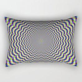 Crinkle Cut Circles Rectangular Pillow