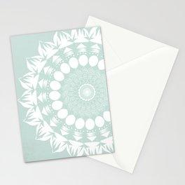 Baby Blue Mandala Stationery Cards