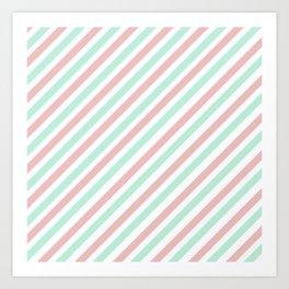 Candycane Art Print