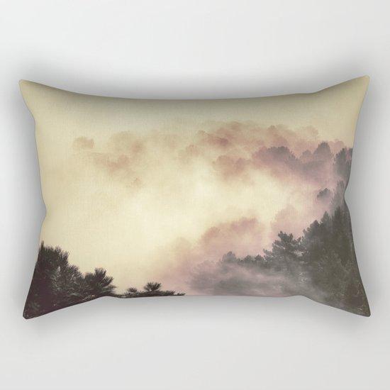 """""""Surprise misty forest"""" Rectangular Pillow"""