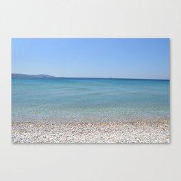 Samos mare Canvas Print