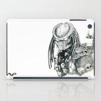 predator iPad Cases featuring Predator. by Gary Barling