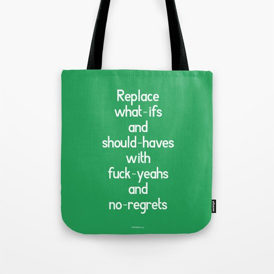 Replace Tote Bag