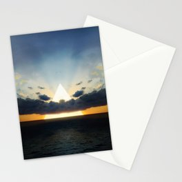 Abstract Environment 03: Volcano Stationery Cards