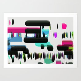 Go To The Party Art Print