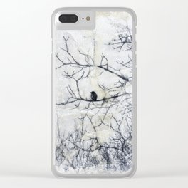 Diaphanous Three Clear iPhone Case