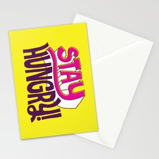 Stay Hungry Stationery Cards