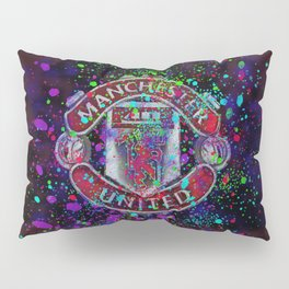 Watercolor Manchester United Pillow Sham