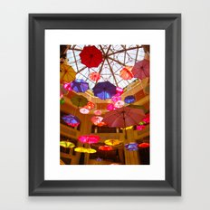 You Can Stand Under My Umbrella Framed Art Print