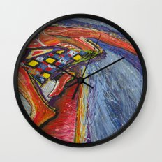 The Tom Sellecka Wall Clock