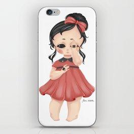 Eye See You - Creepy Cute Girl iPhone Skin