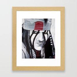 KE-MO SAH-BEE (FAITHFUL FRIEND) Framed Art Print