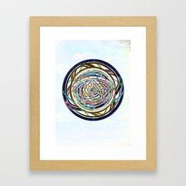 Intermittencies of the Heart Framed Art Print