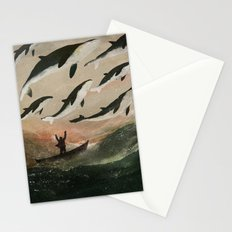 Minke Whale Migration Stationery Cards