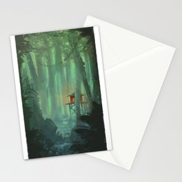 A Lonely Home Stationery Cards