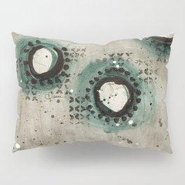 Sepia Circles Pillow Sham
