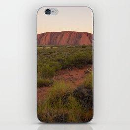 Sunset at Uluru iPhone Skin