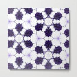 Purple Passion Pattern 5 Metal Print