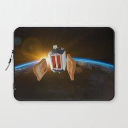 Space Toaster - Initiating Final Burn Procedure Laptop Sleeve