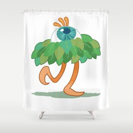 Paul the Prancing Pupil Shower Curtain
