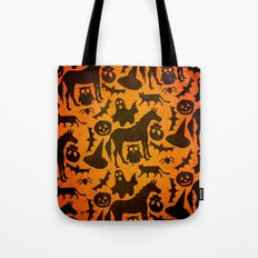 Halloween Spook Unicorn Tote Bag