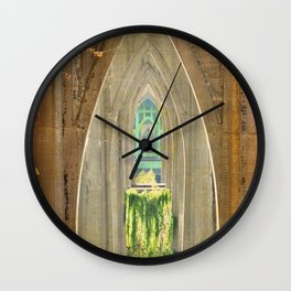 CATHEDRAL PARK ARCHES - ST. JOHNS Wall Clock
