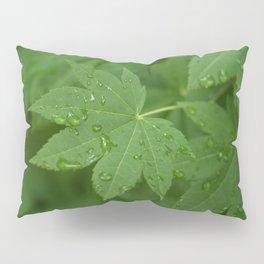 Rainy Leaves Pillow Sham