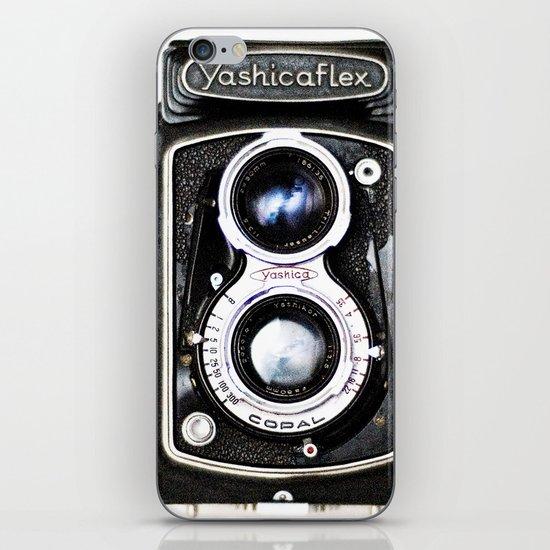 Yashica Retro Vintage Camera iPhone & iPod Skin