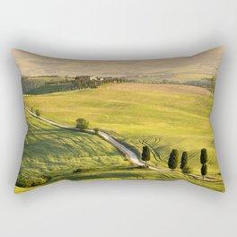 Gladiator road in Tuscany Rectangular Pillow