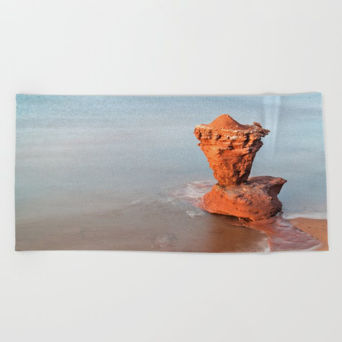 Teapot Rock Beach Towel