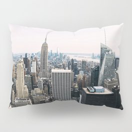 New York skyline from Top of the Rock Pillow Sham