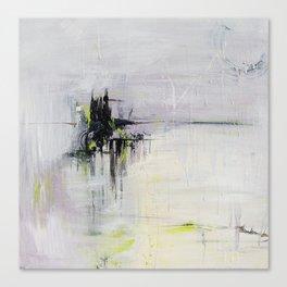 No. 08 Pastel Abstract Painting  Canvas Print