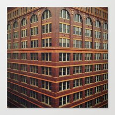 Corner of Elm Canvas Print