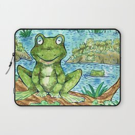 Chillin' Frogs Laptop Sleeve
