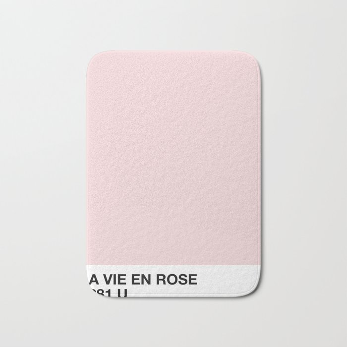 la vie en rose Badematte