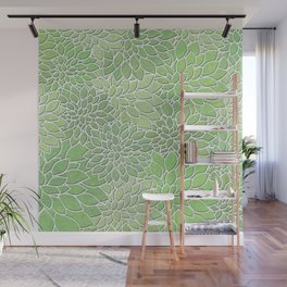 Floral Abstract 30 Wall Mural