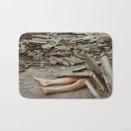 roof destruction Bath Mat