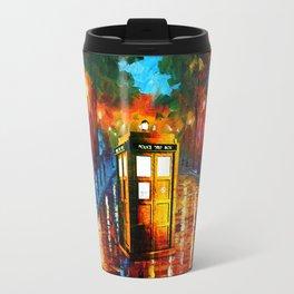 TARDIS PAINTING Travel Mug