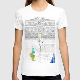 Luxembourg Gardens - Paris T-shirt